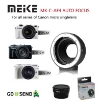 Meike Auto Focus AF Canon EF EF-S Mount Adapter Lens to EOS M