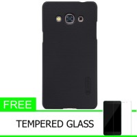 Nillkin Frosted Samsung Galaxy J3 Pro/J3110 -Hitam+Free Tempered Glass