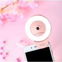 Jual Remax Moon Light Selfie Spotlight LED Beauty Ring + Ion Limited Murah