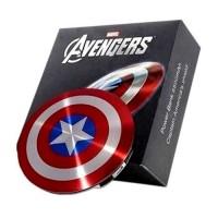 Power Bank Perisai Captain America 2 Port 6800mAh