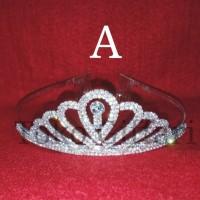 Jual Mahkota Tiara Crown permata besi anak dan dewasa Murah