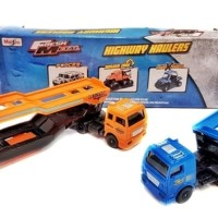Jual Maisto Highway Hauler Container Trailer type 1 PROMO Murah