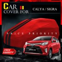 Body Cover / Sarung Mobil Warna Premium Calya / Sigra Waterproof
