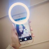 Jual Selfie Spotlight LED Flash Beauty Ring Lampu Smartphone Limited Murah