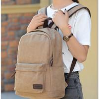 Jual Tas Ransel Kanvas Backpack Canvas DxYizu 292 (WYK10) Murah