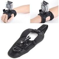 Jual Glove Style Velcro Wrist Band Strap Xiaomi Yi GoPro Her Murah Murah