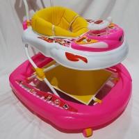 Jual Baby Walker Nakami Minnie Mouse 1031 MNP Murah