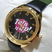 Jam Tangan Kate Spade Original / Katespade Watch KSW1148 Leather Black