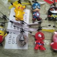 Drone Minion Sensor Flying Toy Helikopter Mainan Remote Terbang Sensor
