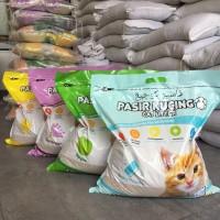 Pasir kucing Kawan Cat Litter 10Liter / Pasir gumpal wangi