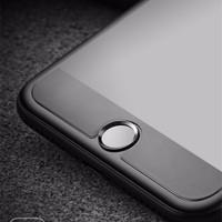 Jual iPhone 7 / 7 Plus Aluminum Touch ID Home Button Sticker - Black Murah