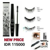 Waterproof Black DE03 - NYX Doll Eye Mascara Limited