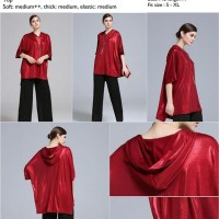 Jual Fashion Wanita Top Red Signature Loose Murah