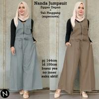 6881 nanda jumpsuit/ baju muslim wanita/jumpsuit muslim/baju grosir
