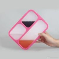 Jual EXCLUSIVE 579 NEW Lunch Box Kotak Makan Yooyee 3SEKAT kotak bekal Ant Murah