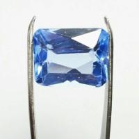 Batu King Blue Topaz / Topas Obsidian Murah