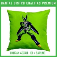 Jual Bantal Dragon Ball-Cell 1 DRGB12 Bantal Sofa/Mobil Murah