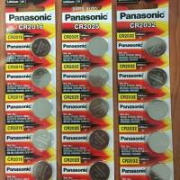 Battery / Baterai / Batere Panasonic CR 2016 CR2025 CR 2032 Lithium 3V