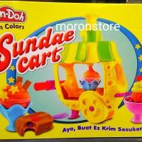 Jual Mainan Edukatif dan Kreatif Lilin Play Doh Fun Sundae Ice Cream Yummy Murah