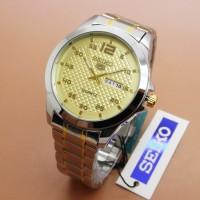 Jual BAS Jam Tangan Seiko 5 5986G Male Combi Plat Gold 577 Murah
