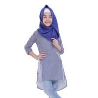 Baju Atasan Blus Blouse Muslim Anak Perempuan Cewek Toddler T 3035 TR