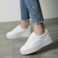 Jual Sepatu Cewek Keta  Putih 12 Murah
