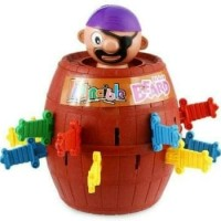 Jual PREMIUM Pirate Roulette Barrels Running Man Korean Games Min 49 Disko Murah