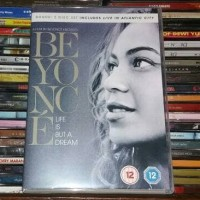 DVD Beyonce - Life Is But A Dream + Live In Atlantic City 2 DVD