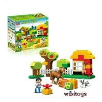 Jual lego duplo Happy Farm 188-35 isi 45pcs Murah