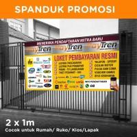 Spanduk / Banner Agen Paytren ukuran 2 x 1 m