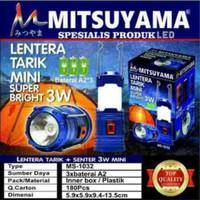 Jual Lentera Tarik Senter Mini Mitusyama MS-1032 3Watt Murah Murah