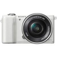 Kamera Sony Alpha A5000 with 16-50mm f3.5-5.6 OSS White
