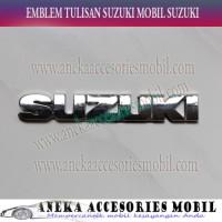 Jual Jual Emblem Tulisan Suzuki Chrome Luxury Suzuki Ertiga SL-60N Beli Hem Murah