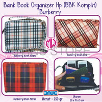 Jual Bank Book Organizer Motif Dompet HP HPO Wallet Murah