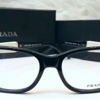 Jual Prada Frame Wood White Mirror Quality / Kacamata Unisex Branded  Murah