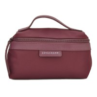 Longchamp Le Pliage Neo Handle Cosmetic Bag Small Size - Marun