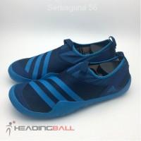 SALE !! Sepatu Outdoor Adidas Original Climacool Jawpaw Slip On skyBlu