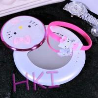 Jual (Murah) Powerbank Cermin Putar Hello Kitty Putih (10.800maH) Murah