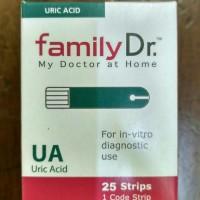 Jual (Diskon) Strip Ua Family Dr / Strip asam urat Family dr Murah