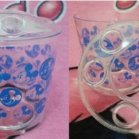 Jual (Tempat Sikat Gigi) Gelas Sikat Gigi Transparan - Mickey Mouse Murah