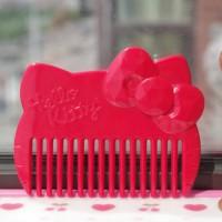 Jual Sisir Sirkam Rambut 0915 Hello Kitty Merah Murah