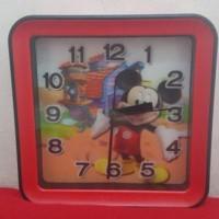 Jual JAM Jam Weker 3D - Mickey Murah