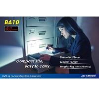 (Dijamin) JETBeam BA10 Senter LED CREE XP-G R5 160 Lumens - Black