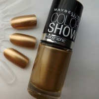 Maybelline NAIL COLOR SHOW - # 008 BOLD GOLD(100% ORIGINAL)