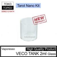 Jual Vaporesso VECO TANK 2ml Replacement Glass | tarot nano kit 22 rta 22mm Murah