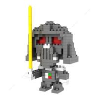 Jual kualitas bagus Loz Lego Nano Block Nanoblock Darth Vader Murah