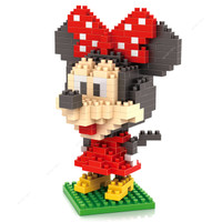 Jual produk istimewa LOZ Lego Nano Block Nanoblock Minnie Mouse Murah