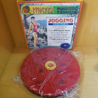 Jual limited edition Magnetic Trimmer Jogging Body Plate / Waist Twisting Murah