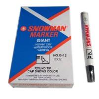 Jual (Sale) Spidol Permanent Marker G-12 Snowman atk Murah