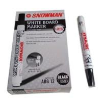 Jual (Diskon) Spidol Snowman White Board marker Murah
